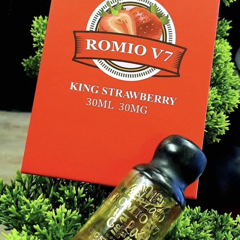 Romio Salt Dâu Tây Lạnh V7