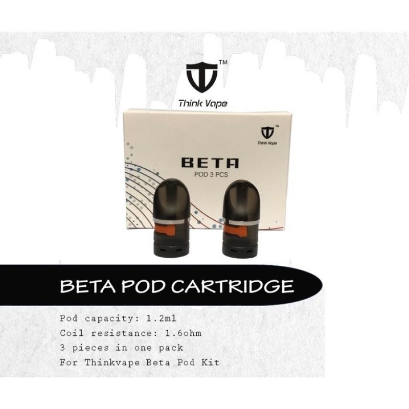 Pack 3 Catridge Beta pod